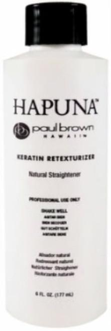 Paul Brown Hapuna Keratin Retexturizer - Natural Straightener