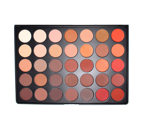 Morphe 35OM Matte Color Nature Glow Eyeshadow Palette