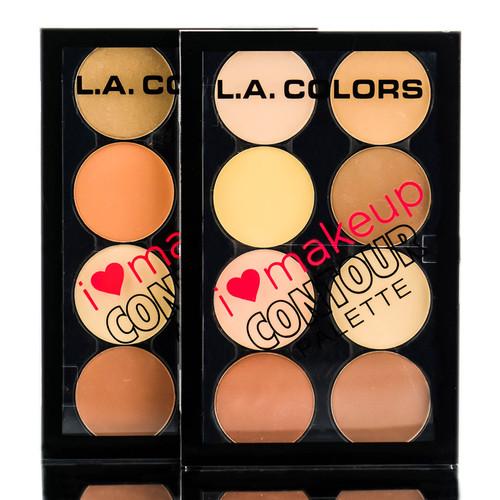 L.A Colors I Heart Makeup Contour Palette