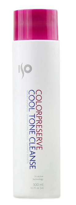 Iso Color Preserve Cool Tone Cleanse Violet Shampoo