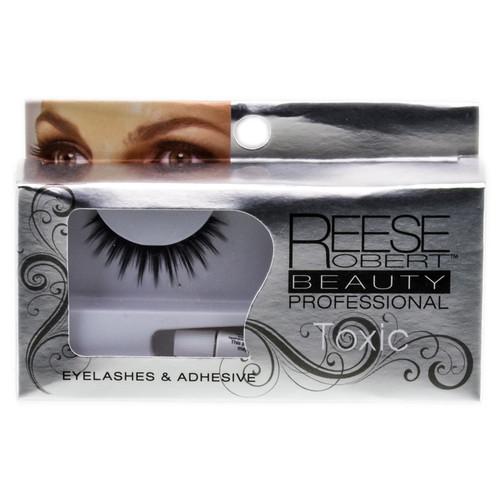 Reese Robert Beauty Professional EyeLashes & Adhesive - Toxic # 2128