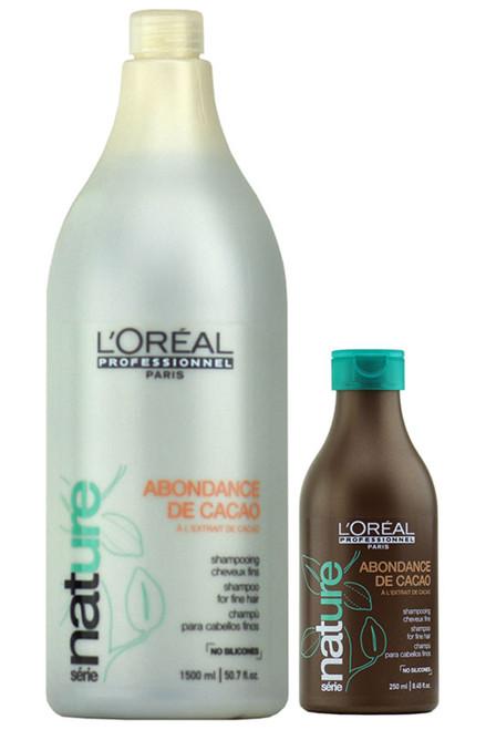 L'oreal Serie Nature Abondance de Cacao Shampoo for fine hair