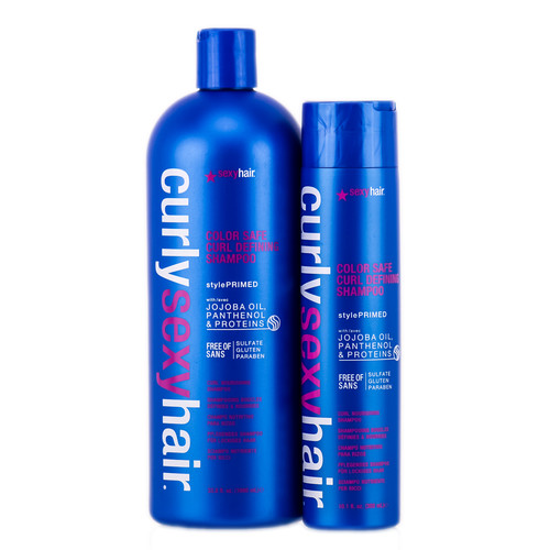 Curly Sexy Hair Color Safe Curl Defining Shampoo