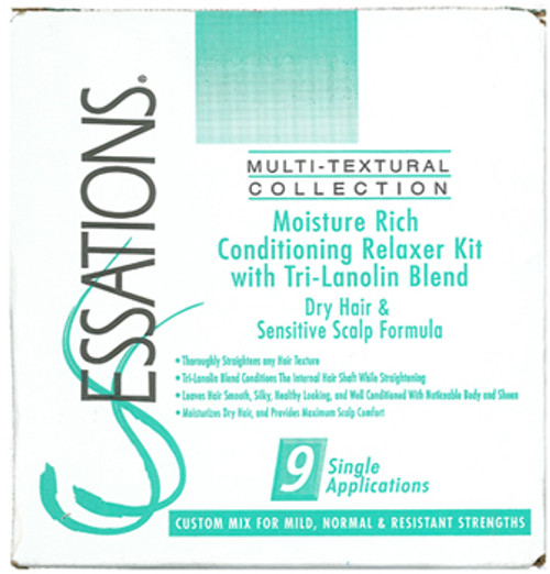 Essations Moisture Rich Conditioning Relaxer Kit (Dry Hair & Sensitive Scalp Formula)