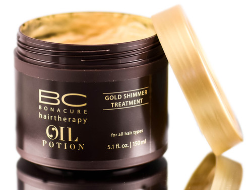 Schwarzkopf BC Bonacure HairTherapy Oil Potion Gold Shimmer Treatment