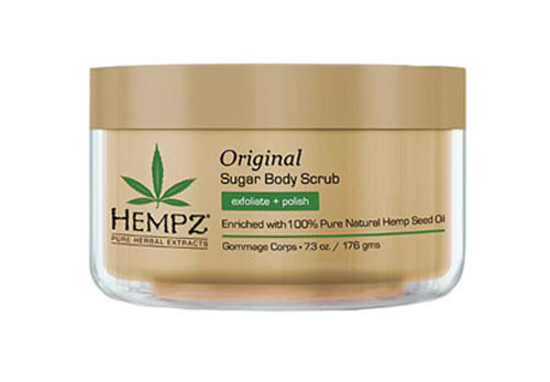 Hempz Herbal Sugar Body Scrub - Exfoliate + Polish