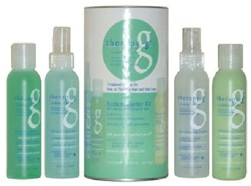 Therapy-G 4 Step System Starter Kit (45 day) for chemically treated hair