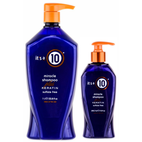 It's a 10 Ten Miracle Shampoo Plus Keratin
