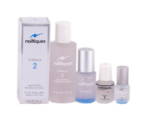 Nail Supplements: Nailtiques Nail Protein Formula 2 - treatment for soft, peeling, bitten, weak or thin nails