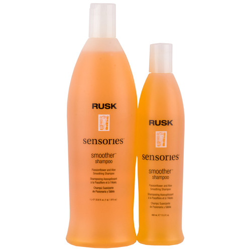 Rusk Smoother Shampoo - passionflower & aloe shampoo