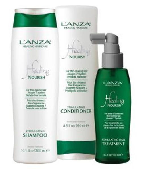 Lanza Healing Haircare - Nourish Anagen 7 System 3 Step Starter Kit