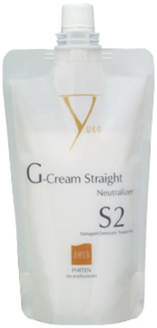 Yuko G-Cream Straight Damaged-Chemically Treated Hair Neutralizer