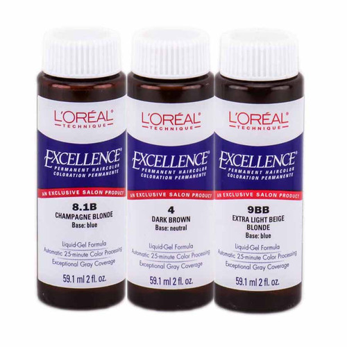 L'Oreal Excellence Liquid Gel Permanent Haircolor