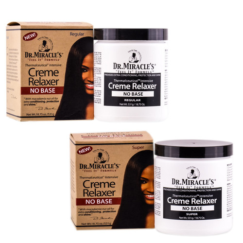 Dr. Miracle's Thermalceutical Intensive Cream Relaxer - No Base