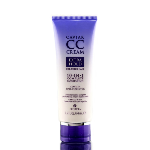 Alterna Caviar CC Cream Extra Hold for Thick Hair 10-in-1 & Leave-In Hair Perfector