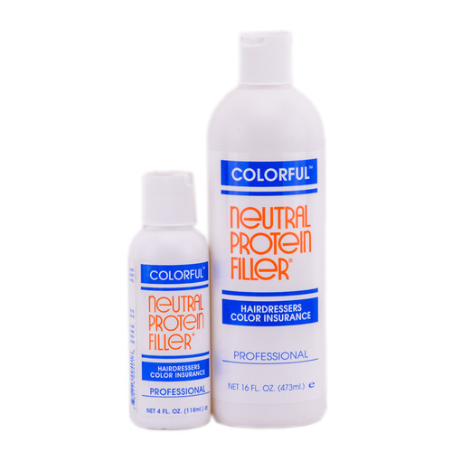 Colorful Neutral Protein Filler - Hair Dressers Color Insurance