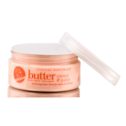 Cuccio Naturale 24 Hours Hydration Butter - Papaya & Guava