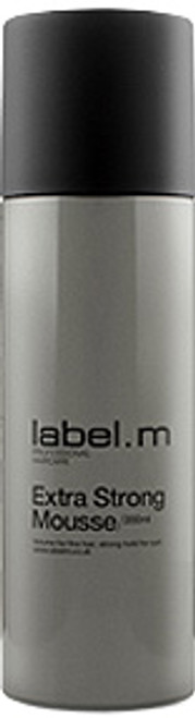 Label. M Extra Strong Mousse