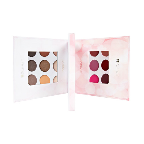 BH Cosmetics 18 Color Eyeshadow & Lipstick Palette
