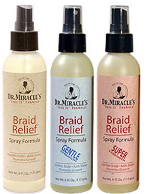 Dr. Miracle's Braid Relief Spray Formula