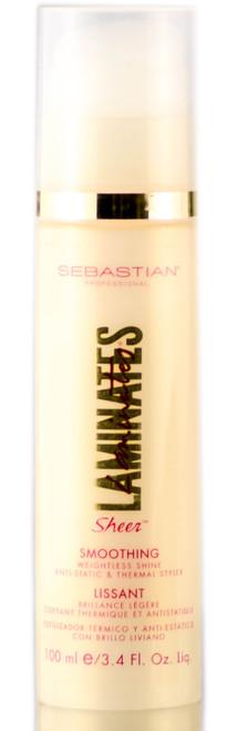 Sebastian Laminates Sheer Smoothing - Weightless Shine, Anti-Static, & Thermal Styler