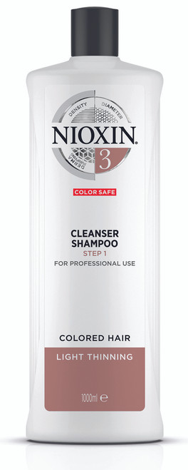 Nioxin System 3 Cleanser for Fine Hair