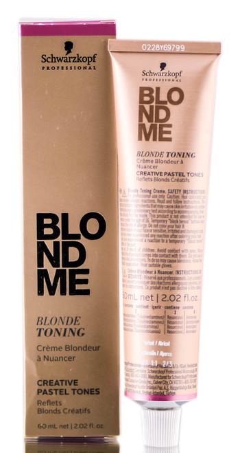 Schwarzkopf Professional Blond Me Blonde Toning Apricot 21 Oz