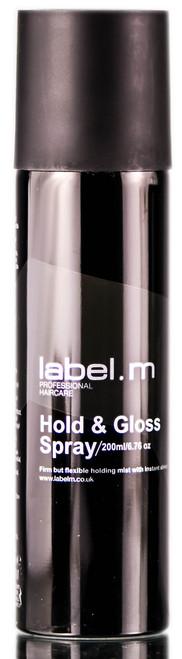 Label. M Hold & Gloss Spray