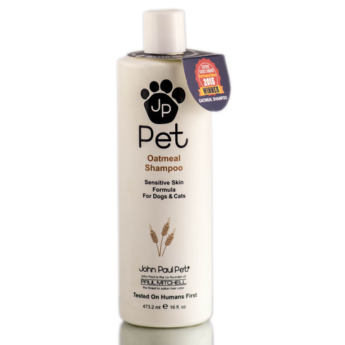 John Paul Pet Oatmeal Shampoo - Sensitive Skin Formula