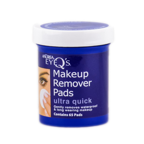 Andrea Eye Q's Makeup Remover Pads - Ultra Quick - 65 Pads