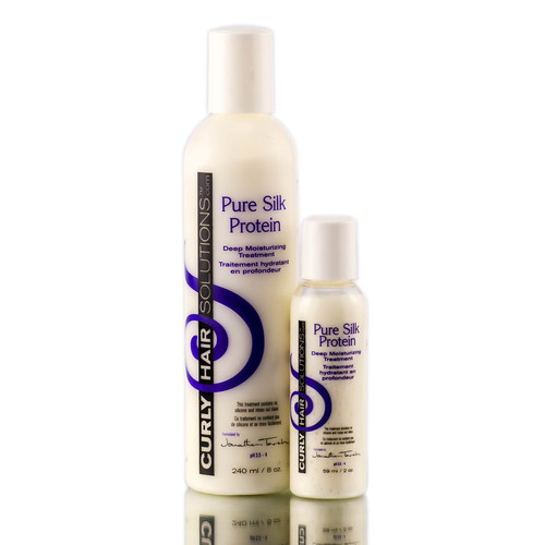 Curly Hair Solutions Pure Silk Protein Treatment