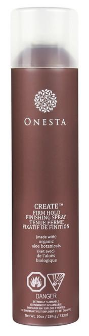 Onesta Create Finish Firm Hold Aerosol Hairspray