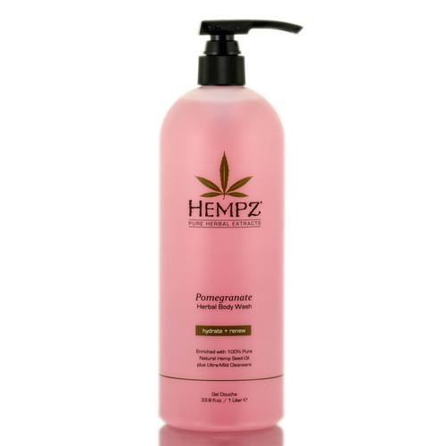 Hempz Pomegranate Herbal Body Wash Hydrate + Renew