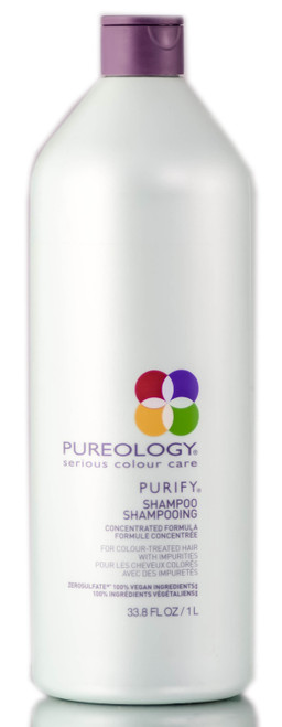 Pureology Purify Shampoo - detoxify clarify