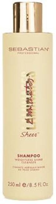 Sebastian Laminates Sheer Shampoo Weightless Shine Cleanser