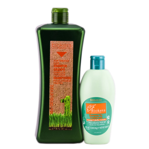 Salerm Biokera Natura For Treated Hair Shampoo