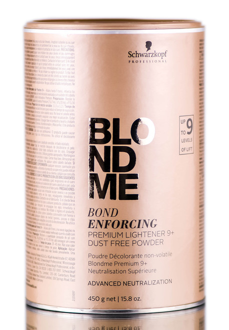 Schwarzkopf BLOND ME Bond Enforcing PREMIUM LIGHTENER 9+ Levels Lift, DUST FREE POWDER
