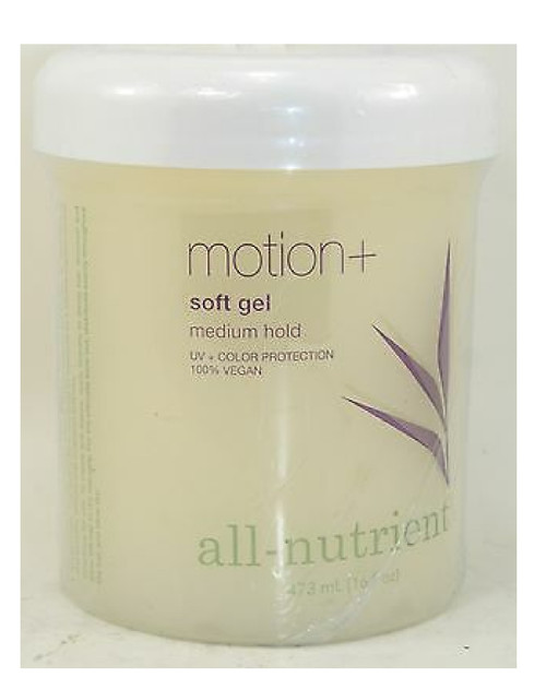 All-Nutrient Motion + Soft Gel, Medium Hold with Added Hair Sheen, PRO SIZE
