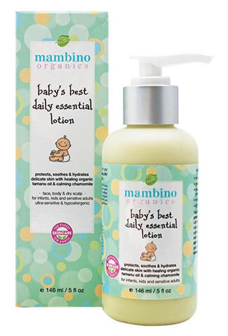 Mambino Organics Baby's Best Daily Essential Lotion