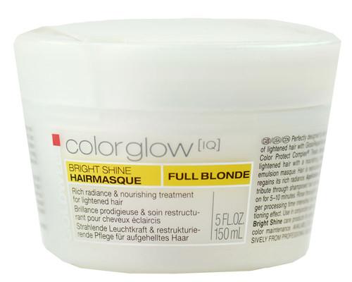Goldwell Colorglow IQ Bright Shine Hair Masque - Full Blonde