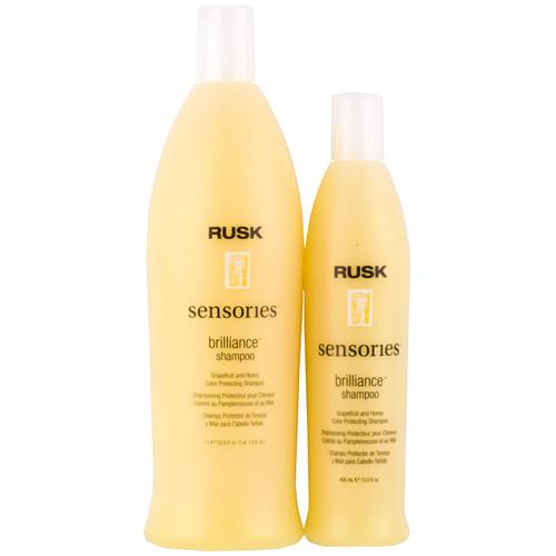 Rusk Brilliance Shampoo - grapefruit & honey color protect shampoo