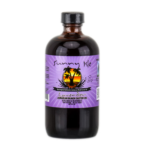 Sunny Isle Jamaican Black Castor Oil Lavender