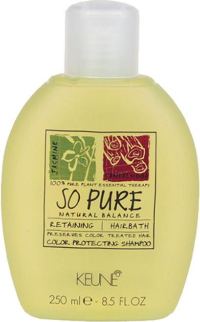 Keune So Pure Retaining Hairbath Color Protecting Shampoo