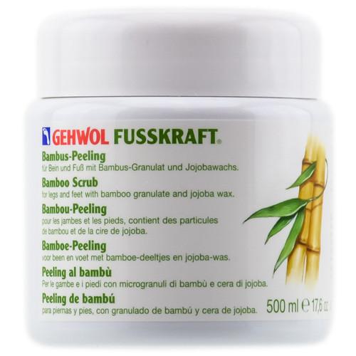 Gehwol Fusskraft Bamboo Scrub - 17.6 oz