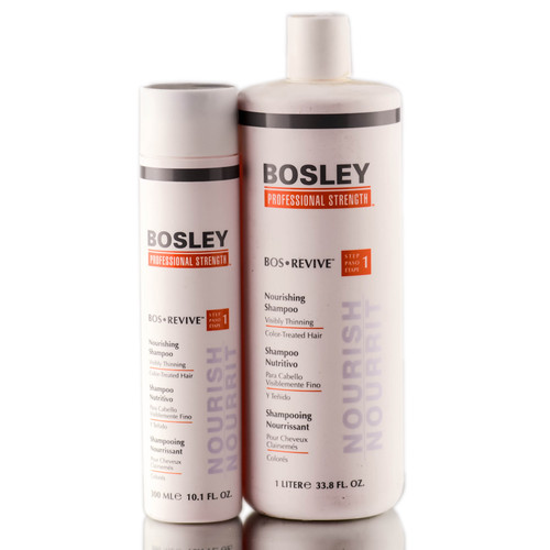 Bosley Revive Nourishing Shampoo for Visibly Thinning / Color-Treated Hair
