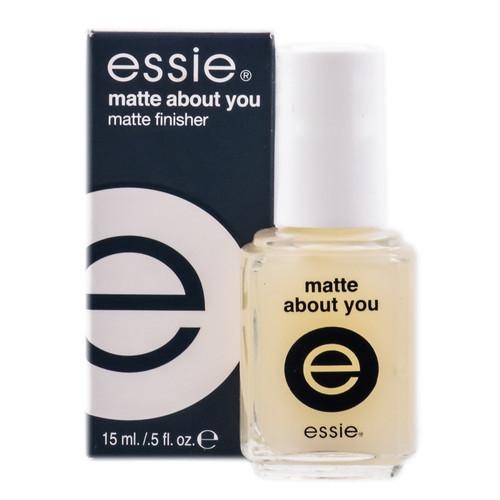 Top Coat: Essie Matte Finish - Matte About You
