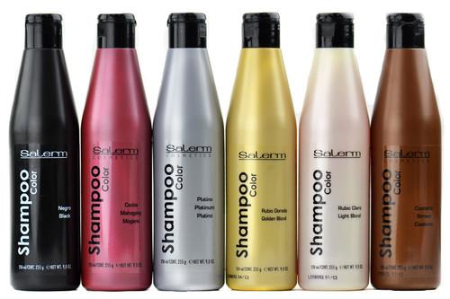 Salerm Color Shampoo - SleekShop.com (formerly Sleekhair) - 9 oz / Black