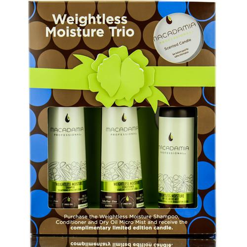 Macadamia Professional Weightless Moisture Trio
