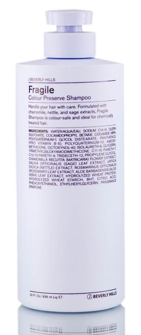 J Beverly Hills Fragile Color-Safe Paraben-Free Shampoo