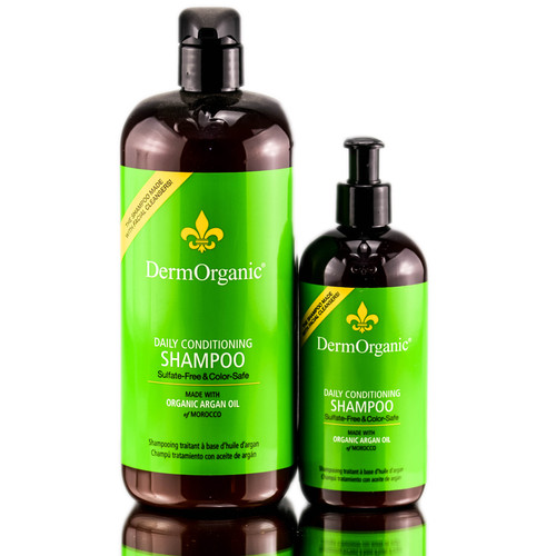 DermOrganic Sulfate-Free Conditioning Shampoo with Argan Oil
